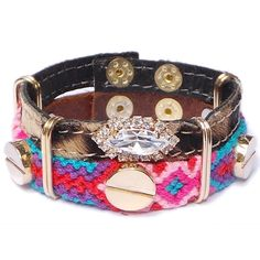 Pulsera Paradise City Animal blanco Toscana Pulseras