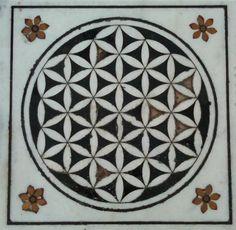 Sikh temple marble floor