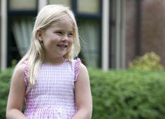 Prinses Amalia, juli 2010.
