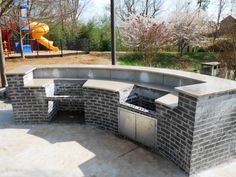 SUNSHINE GOLD Granite Installed-Outdoor Kitchen Charlotte 4 9 13-Visit our web site to see much more and don't forget to get your FREE ESTIMATE http://www.fireplacecarolina.com