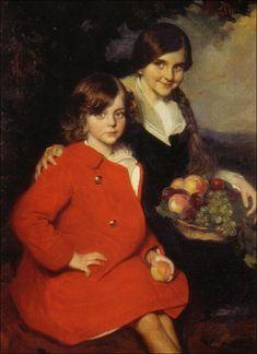 Manuel Benedito Vives - Mis sobrinas. 1913
