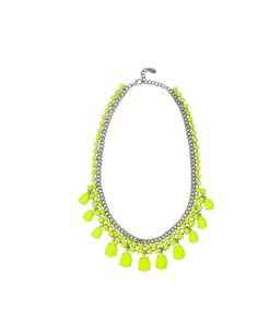 Zara neon necklace  http://www.elleuk.com/fashion/in-store-now/best-buys-of-the-week-4th-june-2012/%28img%29/2#gallery
