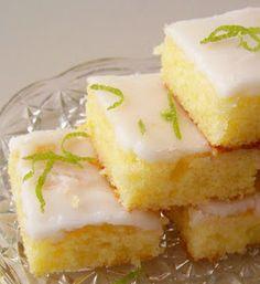 Trainee de cozinheira: Bolo inglês - Pound cake de limão