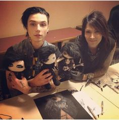I want. The fucken dolls..... and andy, and ashley... and cc..... and jake..... and jinxxs