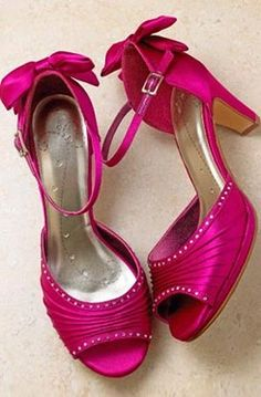 Hot Pink Wedding Shoes Best Idea Ive Ever Had