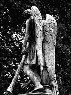 Mount Auburn Cemetery- angel