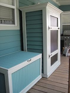 Storage Bench for porch