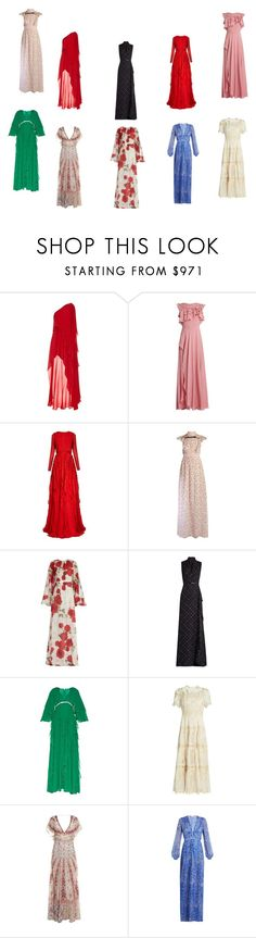 """Get the gowns"" by camry-brynn ❤ liked on Polyvore featuring Elie Saab, Giambattista Valli, Zimmermann, Etro and Raquel Diniz"