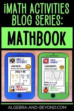 Ideas, tips, and resources for middle and high school math teachers. Real world applications and technology used to keep students excited about math! Math Teacher, Math Classroom, Teaching Math, Teaching Ideas, Algebra Activities, Math Resources, Math Games, 8th Grade Math, Sixth Grade