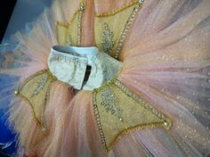 GTLS Designs | Peachy pink and gold tutu. I've tried this tutu on and it was absolutely gorgeous!