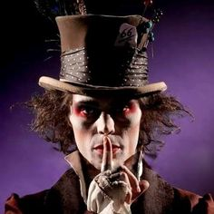 Ville as the Mad Hatter