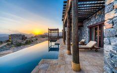 Hotel Alila (Suite Jabal Villa Pool) - Jabal al Akhdar - Oman Bali Resort, Design Hotel, Voyage Oman, Best Places To Travel, Places To Visit, Chauffeur Privé, Beste Hotels, Le Havre, Honeymoon Destinations