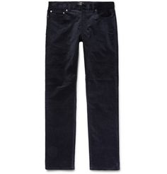 CLUB MONACO Slim-Fit Stretch-Cotton Corduroy Trousers. #clubmonaco #cloth #jeans