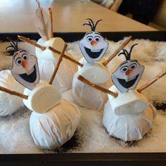 Olaf uit de film Frozen als afscheidstraktatie bij het kinderdagverblijf