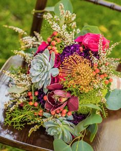 Colorful Spring Bouquet Recipe From Flora Couture