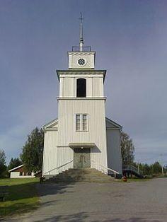 Pelkosenniemi Kirkko kesällä 2008.