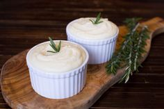 Sous Vide Mashed Potatoes with Garlic and Rosemary