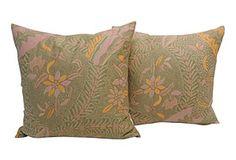 Balinese Printed Cotton pillows