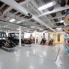 Interior & exterior photos of ANDROMEDA, the Kleven mega yacht, designed by Marinteknik Verkstads with an interior by Yacht Design. Explorer Yacht, Yacht Interior, Yacht Design, Private Jet, Luxury Yachts, Catamaran, Boating, Concept Cars, Luxury Lifestyle