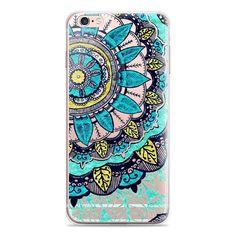 Mandala Silicone Case for iPhone 6 Plus