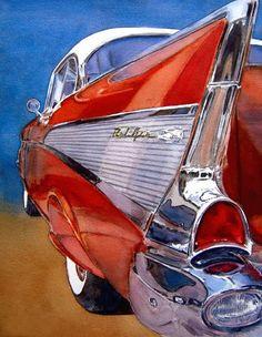 BRUSH - PAPER - WATER: Car Culture -- Diane Morgan and Ron Morrison