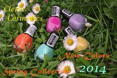 Anita Nails: Oh la la, czyli nowa wiosenno-letnia kolekcja lakierów Cleme Cosmetics ♥