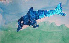 Knutselen: dolfijn