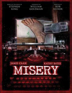 13 affiches de films dhorreur revisitées 13 affiches de films d horreur revisitees misery