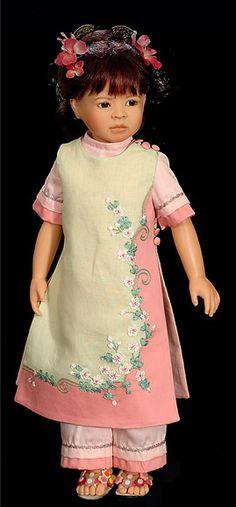 collectible Dolls vinyl Heidi Plusczok maelin doll
