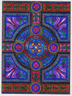 Customer Image Gallery for Decorative Tile Designs Coloring Book (Dover Design Coloring Books)