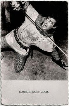 Roger Moore als Ivanhoe was mij grote held.