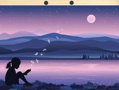 Vektorarbeit mit Verlaufsfarbe ..... Notizen und Anleitungen von Daniela Joss sind im affinity-forum.ch Affinity Designer, Northern Lights, Nature, Pink, Travel, Art, The Last Song, Art Paintings, Thoughts