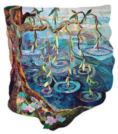 Vikki Pignatelli: Nov. 2 - 8, 2014 -- Stunning non-rectangular quilt