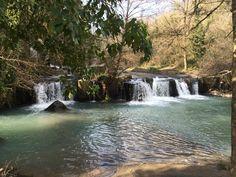 Waterfalls near Calcata. 30 miles from Rome