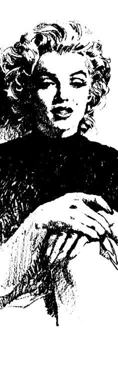 Marilyn by Ben Ross, 1953. Artwork by Pepe Gonzalez.