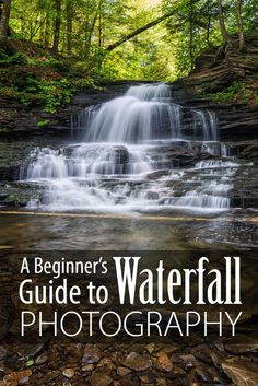 A Beginner's Guide to Waterfall Photography from Guest Blogger Mike Ince | Photo featured: Michael Ince Photography