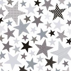 Lilipinso Wandsticker Sterne grau