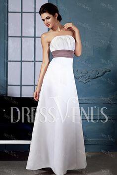 AMAZING BRIDESMAIDS DRESSES   Amazing Ribbons/Sashes A-Line Bridesmaid Dress Wedding Party Dresses