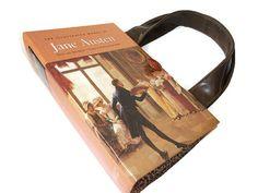 Jane Austen Book Purse Book Handbag Sense and by retrograndma, $65.00