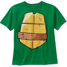 Nickelodeon TMNT Ninja Turtles Boys Turtle Shell Shirt BNWT Sz 6/7 New with Tags #Nickelodeon #Everyday