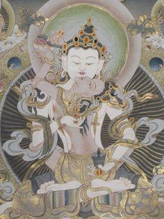 Vajrasattva Yab Yum Thangkas and Sacred Tibetean Art