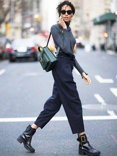 Fall streetwear look