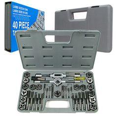Trademark Tools 75-5644 Trademark Tools 40 Pc Premium Tap & Die Set Sae