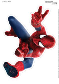 spiderman-free-printable-centerpiece-003.jpg (1131×1600)