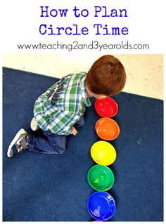 Teaching 2 and 3 Year Olds: Creating a Preschool Circle Time