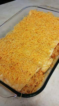 Low Carb Chicken Enchiladas - Sugar Free Like Me