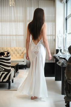 Jane Woolrich white gown