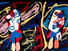 ▶ Dubuffet - YouTube,this video shows  images of Dubuffet's work, paintings and examples of large scale structures