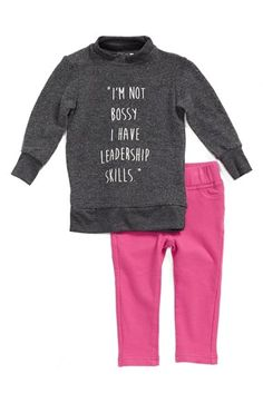 Joe's Graphic Sweatshirt & Leggings (Baby Girls) (Online Only) available at #Nordstrom