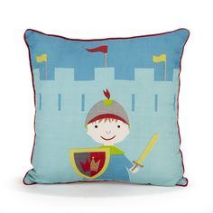 coussin chevalier Ce château servira de coffre à jouets et sera aussi le théâtre d  coussin chevalier